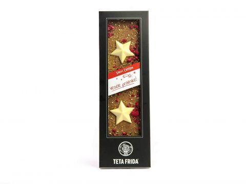 Božična čokolada z zvezdami